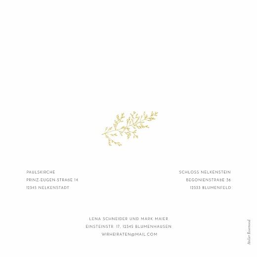 Hochzeitseinladungen Feine blätter gelb - Seite 4
