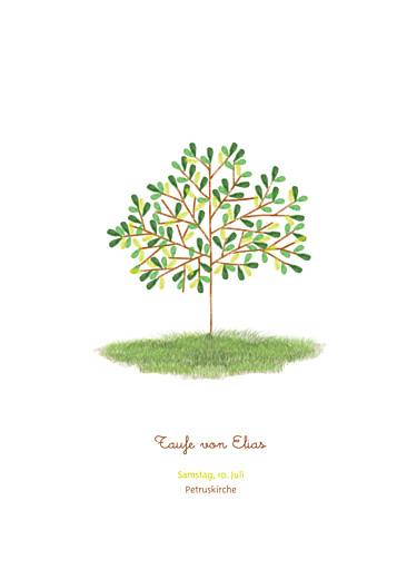 Kirchenheft Baum grün