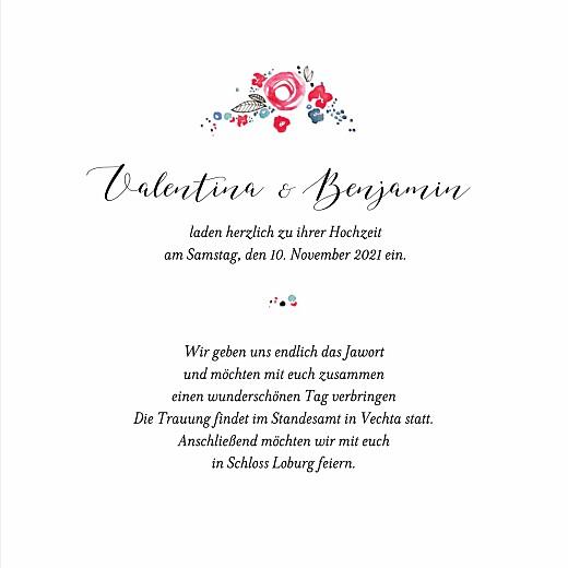 Hochzeitseinladungen Blütezeit weiß - Seite 3