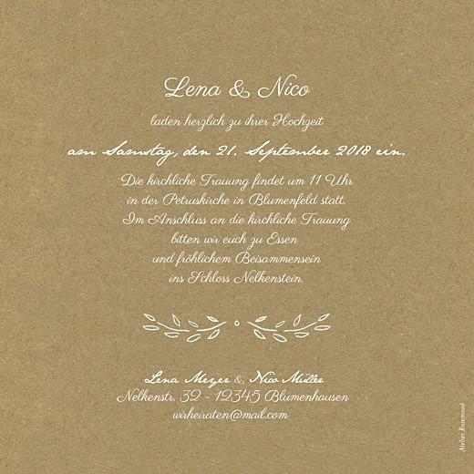Hochzeitseinladungen Lyrik sand - Seite 2
