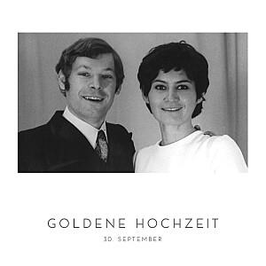 Geburtstagseinladungen gold elegant herz (gold) weiß