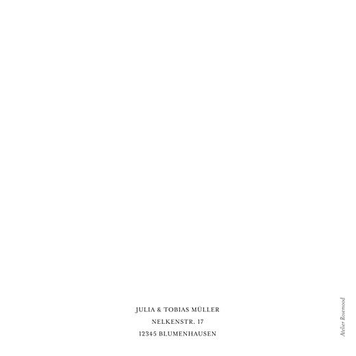 Dankeskarten Hochzeit Stilvoll modern klappkarte weiß - Seite 4