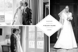 Dankeskarten Hochzeit Emblem klappkarte lang white