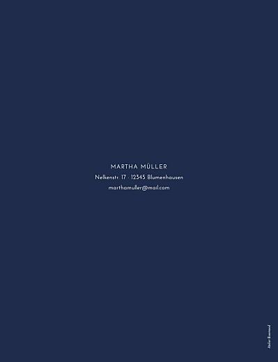 Geburtstagseinladungen Edle funken (gold) marineblau - Seite 2