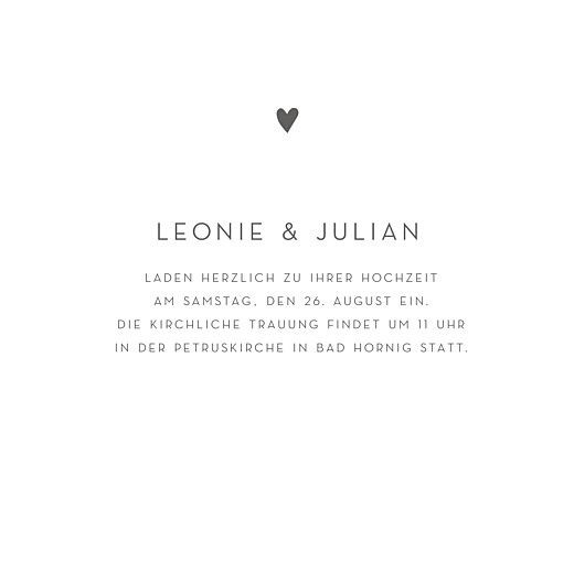 Hochzeitseinladungen Elegant herz gold (klappkarte) weiß - Seite 3