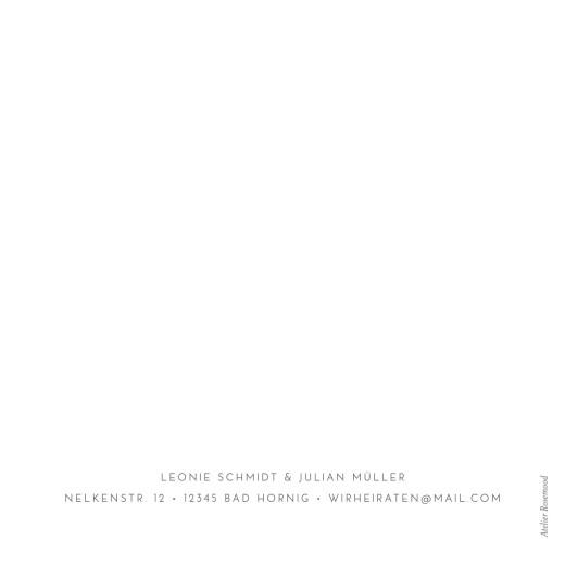 Hochzeitseinladungen Elegant herz gold (klappkarte) weiß - Seite 4