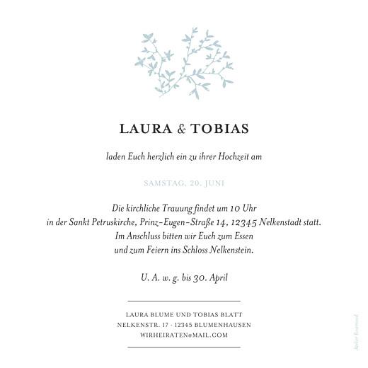 Hochzeitseinladungen Zarte poesie grün - Seite 2