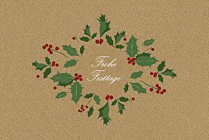 Weihnachtskarten geschäftlich ohne foto winterstimmung (klappkarte) sand
