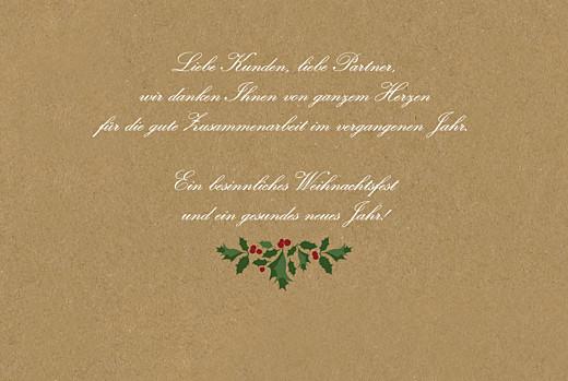 Weihnachtskarten geschäftlich Winterstimmung (klappkarte) sand - Seite 3