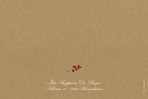 Weihnachtskarten geschäftlich Winterstimmung (klappkarte) sand - Seite 4