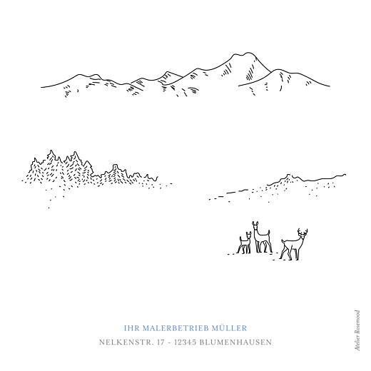 Weihnachtskarten geschäftlich Winterruhe weiß - Seite 4