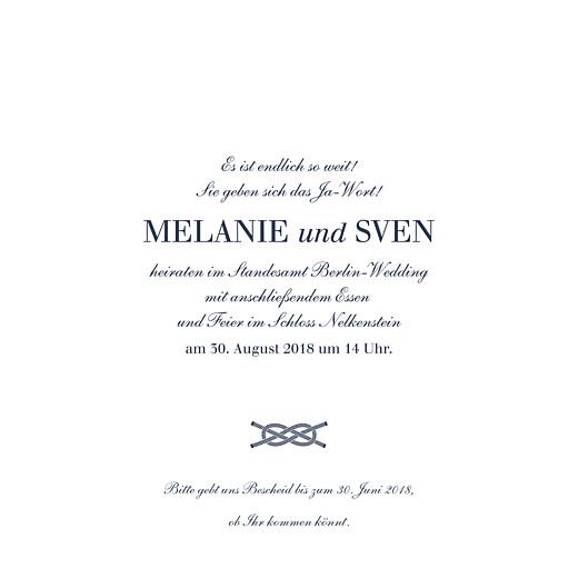 Hochzeitseinladungen Anker blau - Seite 3