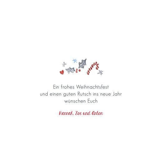 Weihnachtskarten Winterzeit (klappkarte) weiß - Seite 3