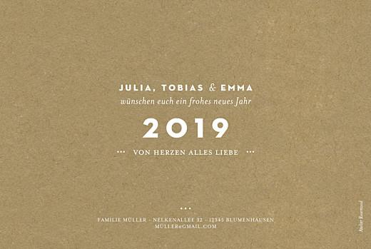 Weihnachtskarten Mein liebling (gold) sand - Seite 2