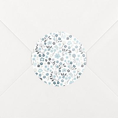 Aufkleber geburt liberty origami sterne ag blau