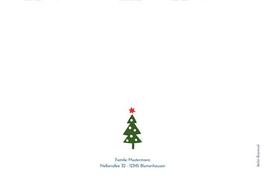 Weihnachtskarten Weihnachtsvergnügen klappkarte beige - Seite 4