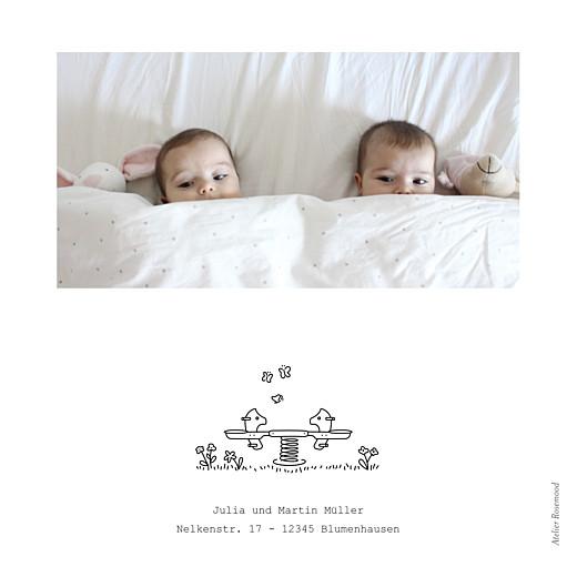 Geburtskarten Spielplatz zwillinge weiß - Seite 4