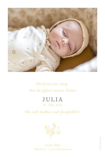 Geburtskarten Fabelhaft hoch gelb - Seite 2