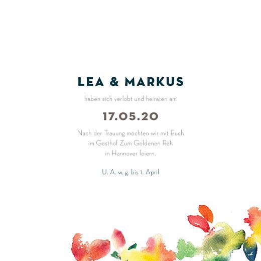 Hochzeitseinladungen Bloom beige - Seite 3