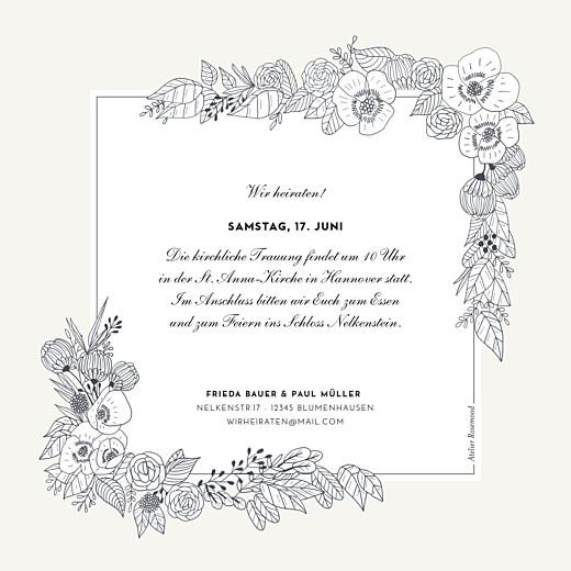 Hochzeitseinladungen Naturgemälde weiß - Seite 2