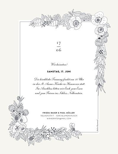 Hochzeitseinladungen Naturgemälde hoch - Seite 2