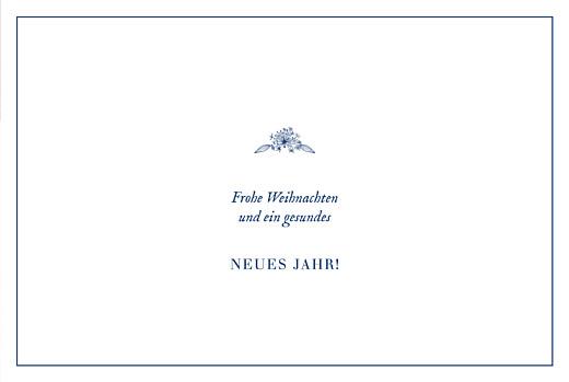 Weihnachtskarten Naturnah klappkarte (gold) blau - Seite 3
