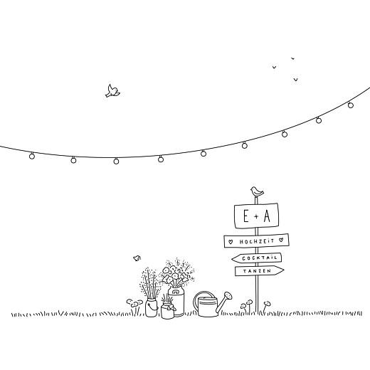Hochzeitseinladungen Sommerhochzeit weiß - Seite 2