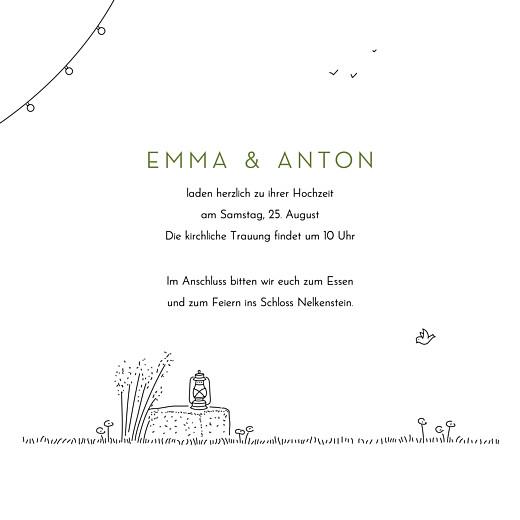 Hochzeitseinladungen Sommerhochzeit weiß - Seite 3