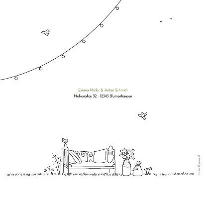 Hochzeitseinladungen Sommerhochzeit weiß - Seite 4