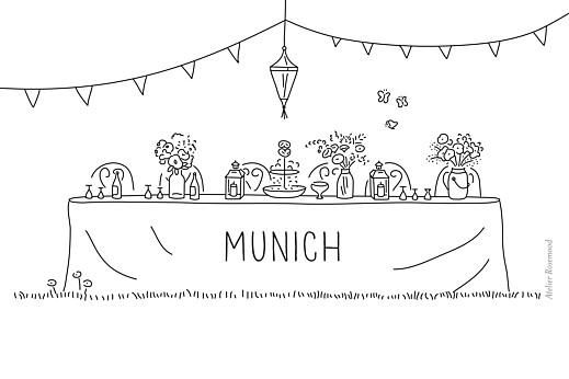 Tischkarten Hochzeit Sommerhochzeit weiß - Seite 2