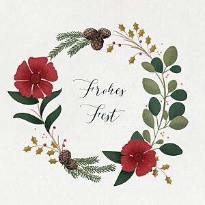 Weihnachtskarten klassisch daphné (klappkarte) winter