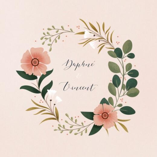 Hochzeitseinladungen Daphné (klappkarte) frühling
