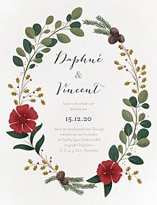 Hochzeitseinladungen modern daphné winter