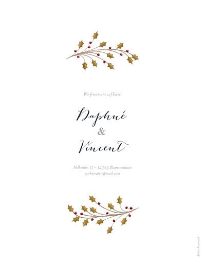 Hochzeitseinladungen Daphné winter - Seite 2