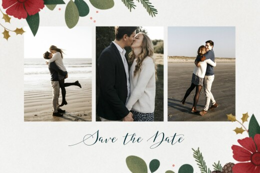 Save-the-Date Karten Daphné winter