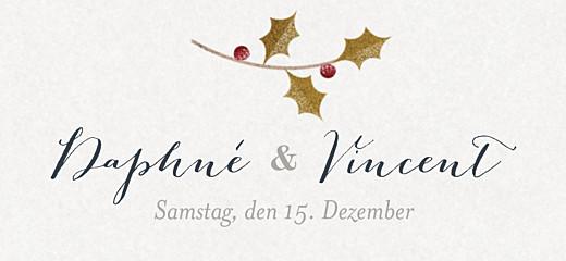 Anhänger Hochzeit Daphné winter