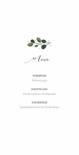 Menükarte Daphné (klappkarte) winter - Seite 3