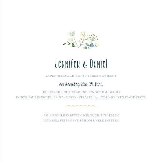 Hochzeitseinladungen Wildblumen gelb - Seite 3