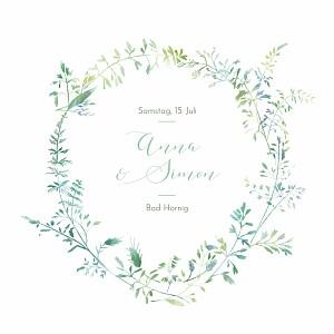 Hochzeitseinladungen marguerite courtieu sommerwiese grün