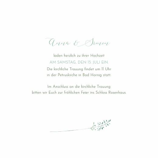 Hochzeitseinladungen Sommerwiese grün - Seite 3