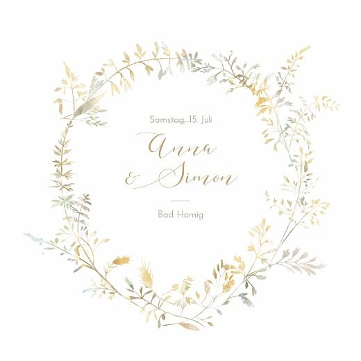 Hochzeitseinladungen Sommerwiese sand