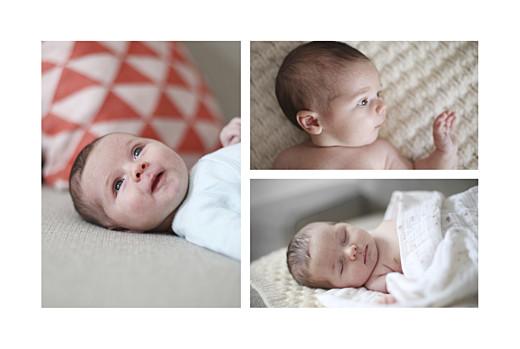 Geburtskarten Winter family (3 kinder) 1 - Seite 2