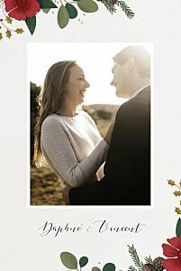 Hochzeitseinladungen grau daphné foto winter