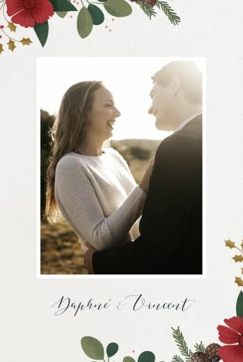 Hochzeitseinladungen Daphné foto winter