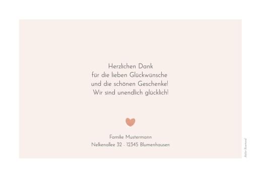 Dankeskarten Kleine kirche rosa - Seite 2