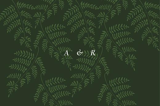 Tischkarten Hochzeit Blättertanz grün - Seite 2