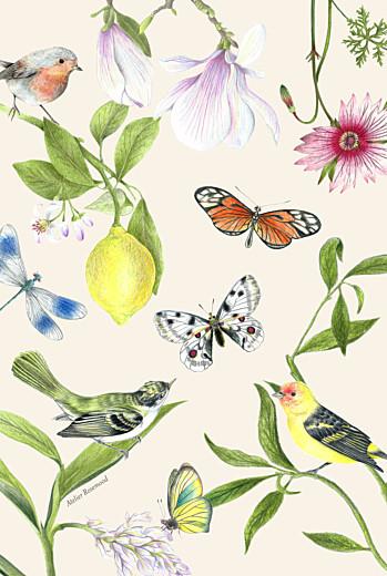 Dankeskarten Hochzeit Naturalis (klappkarte)  weiß - Seite 4