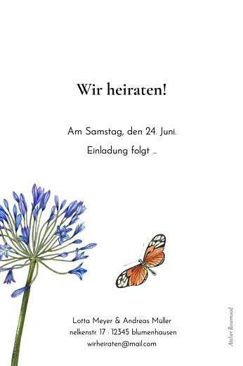 Save-the-Date Karten Naturalis weiß - Seite 2