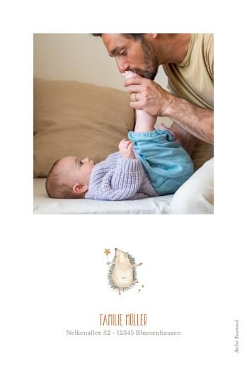Geburtskarten Tiertanz weiss - Seite 2