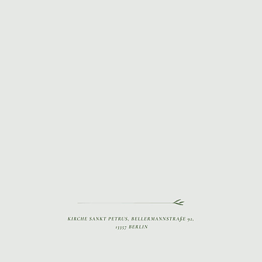 Hochzeitseinladungen Blättertanz (klappkarte) grün - Seite 2